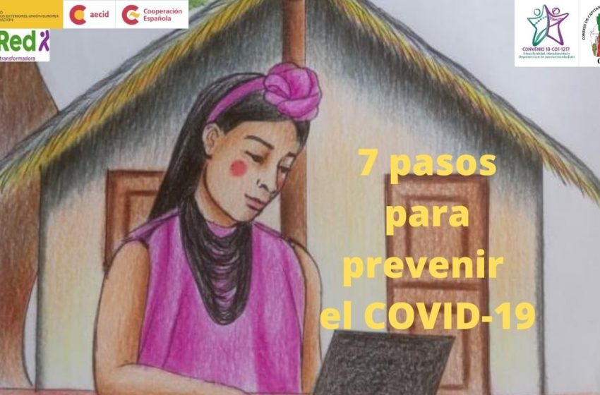 7 PASOS PARA PREVENIR EL COVID-19