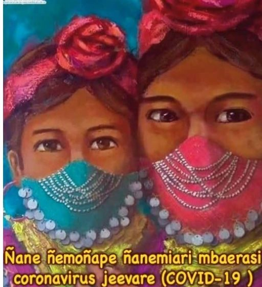 Ñane ñemoñape ñanemiari mbaerasi coronavirus jeevare (COVID-19)  «Hablemos del coronavirus en familia»