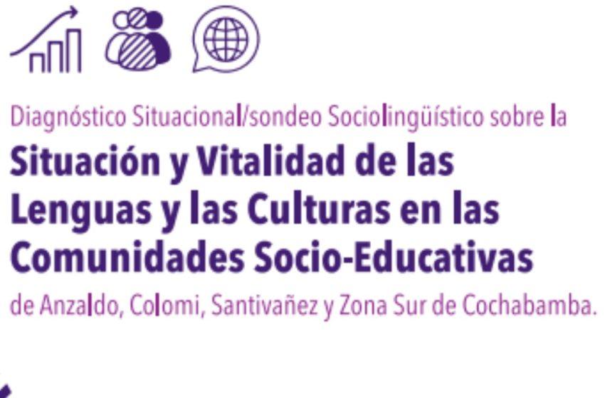 Diagnóstico Situacional/sondeo Sociolinguístico sobre la Situación y Vitalidad de las Lenguas y las Culturas en las Comunidades Socio-Educativas de Anzaldo, Santiváñez y Zona Sur de Cochabamba