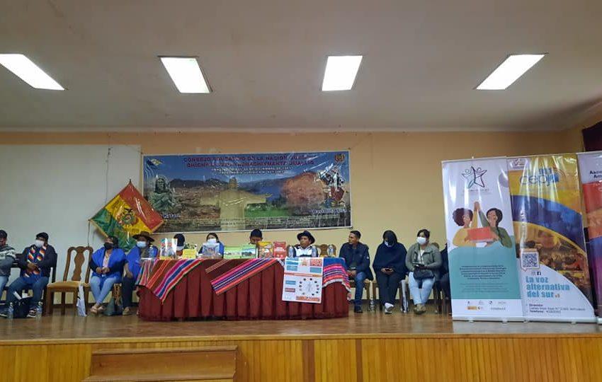 Presentación del Currículo Regionalizado de la Nación Quechua y producciones culturales en lengua quechua